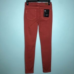 PAIGE Jeans - PAIGE Transcend Edgemont Ultra Skinny Red Clay